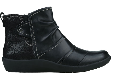 Planet Shoes Cid Womens Comfortable Leather Flat Ankle Boots