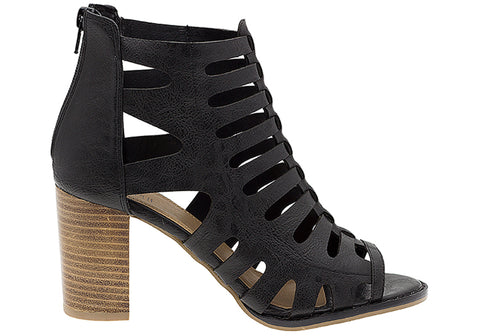 Lavish Breez Womens On Trend Fashion Gladiator Heels