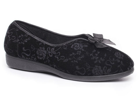 Grosby Victoria Womens Comfortable Indoor Slippers