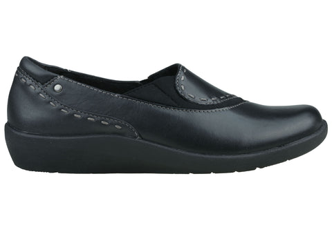 Planet Shoes Cert Womens Comfortable Leather Flat Slip On Shoes