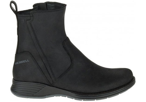 Merrell Travvy Waterproof Womens Comfort Leather Flat Ankle Boots