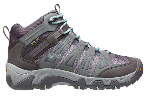 Keen Oakridge Mid Waterproof Womens Wide Fit Hiking Boots