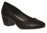 Grosby Juliet Womens Low Heel Court Shoes