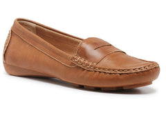 Hush Puppies Amal Womens Soft Leather Loafers