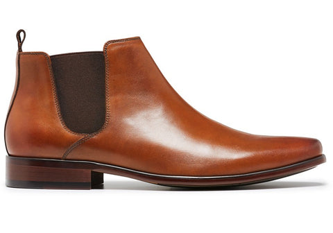 Julius Marlow Kick Mens Leather Chelsea Dress Boots