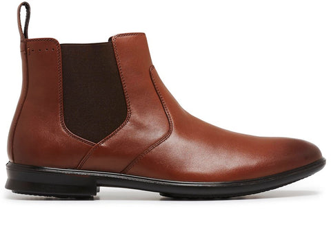 Hush Puppies Carter Mens Waterproof Leather Chelsea Boots
