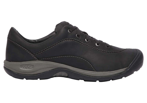 Keen Presidio II Womens Leather Comfort Lace Up Shoes