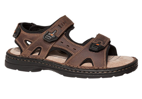 Hush Puppies Simmer Mens Wide Fit Sandals
