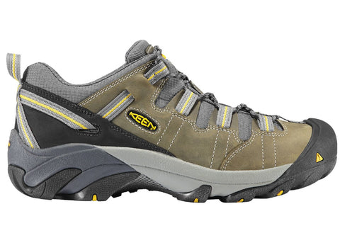 f0e690a82a Keen Detroit Low Mens Steel Toe Lace Up Wide Fit