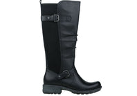 Planet Shoes Peggy Womens Leather Knee High Boots With Stretch