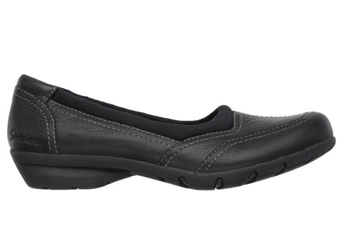 Skechers Career COO Womens Leather Memory Foam Comfort Shoes