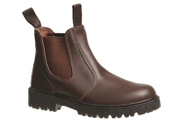 Grosby Kids Pull On Boots Black