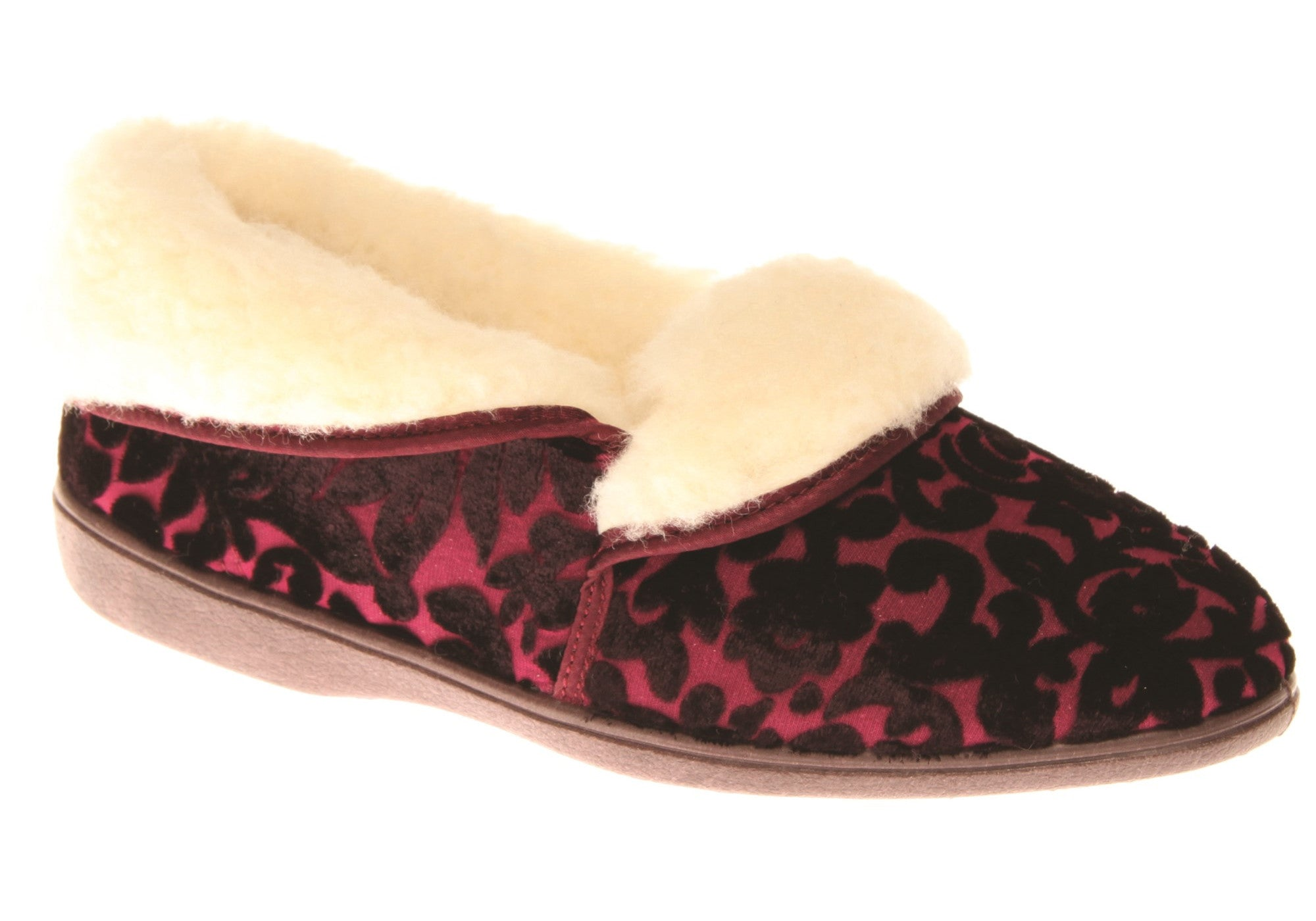 NEW GROSBY MARE WOMENS COMFORTABLE WARM SLIPPERS