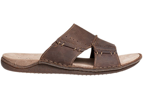 Hush Puppies Wanted Mens Comfortable Wide Fit Slides