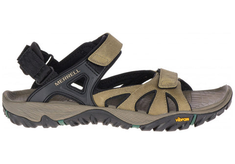 Merrell Mens All Out Blaze Sieve Convertible Adjustable Sandals