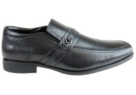 Ferricelli Xavier Mens Wave Memory Comfort Technology Dress Shoes