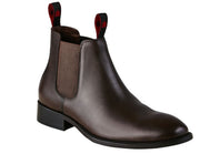 KingGee Urban Mens Leather Chelsea Boots