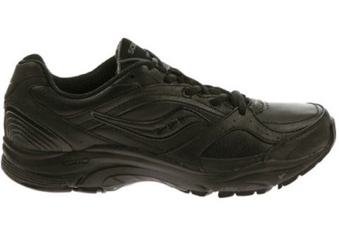 Saucony Womens Integrity St 2 D Wide Width Black Shoes