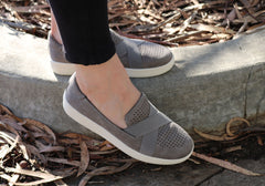 Planet Shoes Daryl Womens Comfortable Cushioned Slip On Casual Shoes
