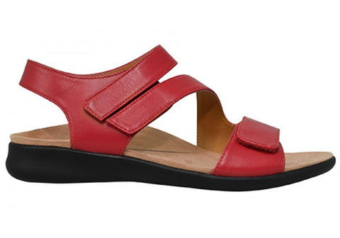 Scholl Orthaheel Foray Womens Comfortable Supportive Leather Sandals