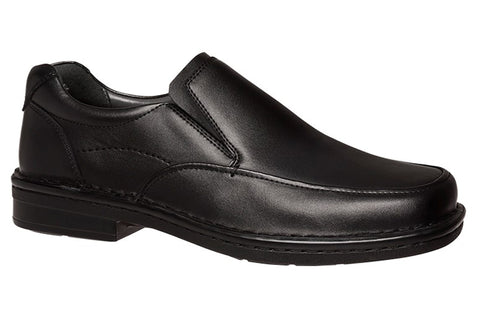 Hush Puppies Bailin Mens Leather Wide Fitting Shoes
