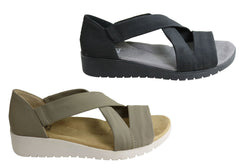 Planet Shoes Nicki Womens Comfortable Sandals With Arch Support