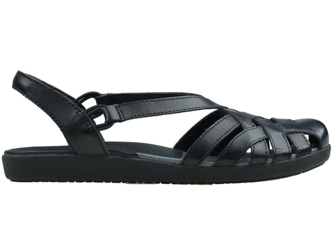 Planet Shoes Bird Womens Comfortable Leather Closed Toe Flat Sandals