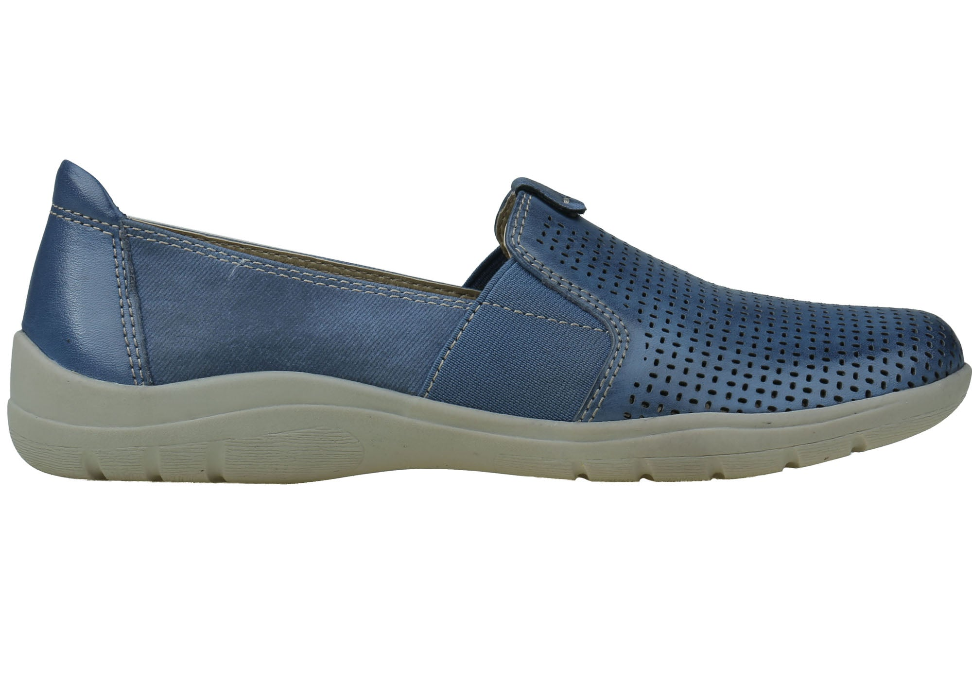 db5eda51a500 ... Womens Comfortable Casual Shoes With Arch Support. Sapphire ...