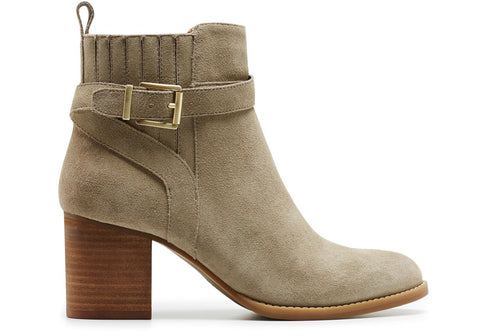 Hush Puppies Adore Womens Suede Ankle Boots