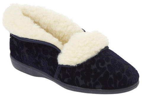 Grosby Mare Womens Comfortable Indoor Slippers