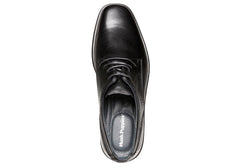 Hush Puppies Dene Mens Leather Wide Fit Shoes