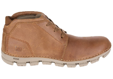 Caterpillar Allay Mens Leather Wide Fit Boots