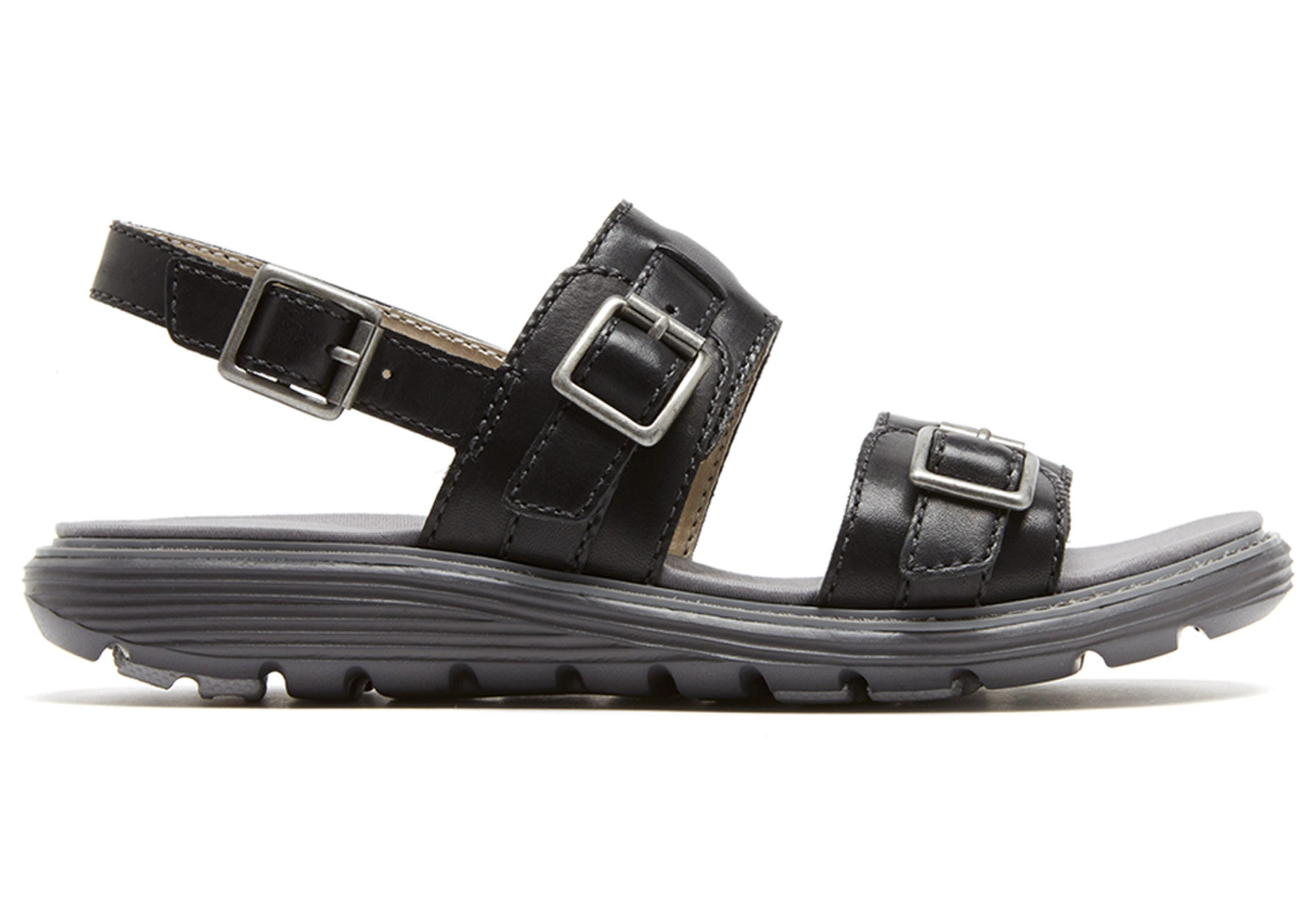 Rockport TruWalk Zero Low Two Band Womens Sandals