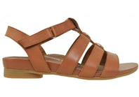 Scholl Orthaheel Chant Womens Comfortable Supportive Leather Sandals