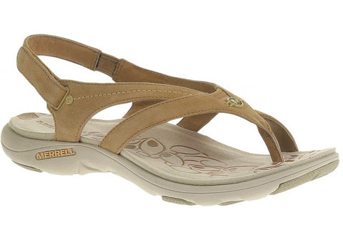 Merrell Buzz Womens Leather Comfort Sandals