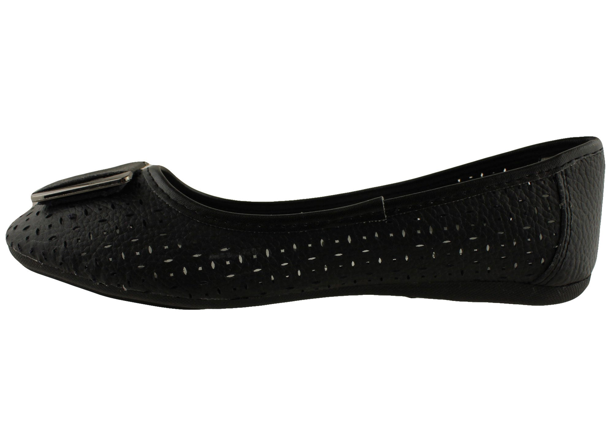 Bellissimo Ashes Womens Soft Leather Ballet Flats