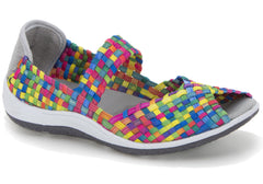 CC Resorts Solar Womens Woven Comfort Casual Shoes