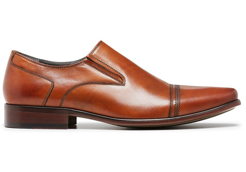 Julius Marlow Known Mens Leather Slip On Dress Shoes