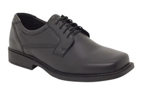 ROC Domain Senior Boys/Mens Leather Shoes