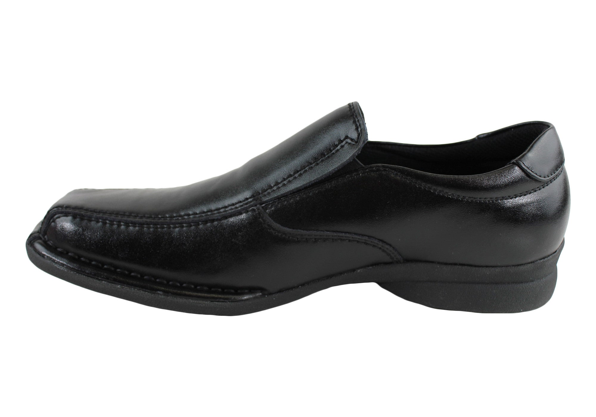 VIP Cam Mens Leather Slip On Dress Shoes