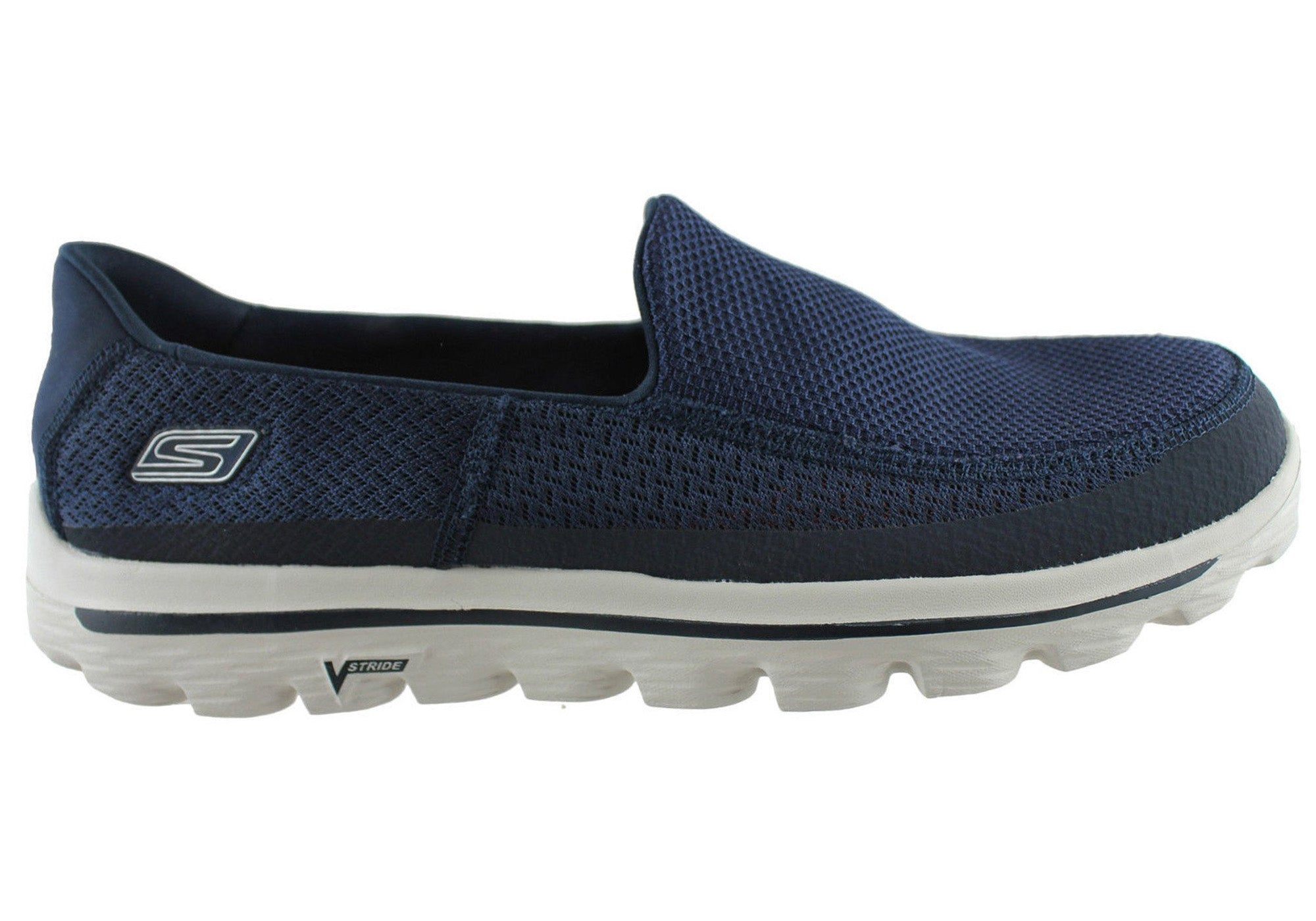 8ce6d943403d NEW SKECHERS GO WALK 2 MENS COMFORTABLE SLIP ON CASUAL SHOES