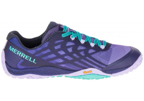 Merrell Womens Trail Glove Lightweight Comfortable Running Shoes