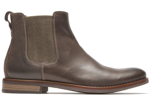 Rockport Mens Wynstin Chelsea Mens Comfort Leather Chelsea Dress Boots