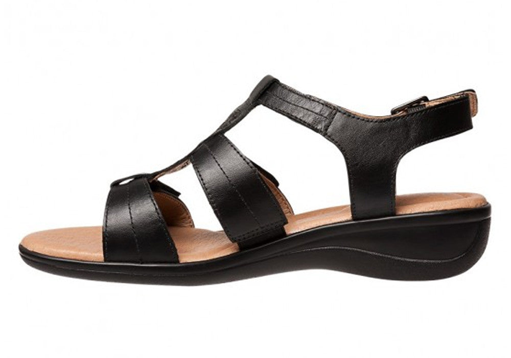 Hush Puppies Carmin Womens Comfortable Leather Sandals