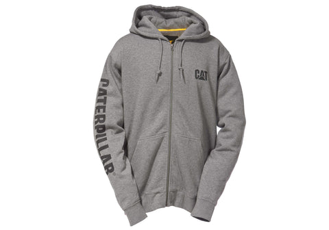 Caterpillar Full Zip Banner Mens Hooded Sweatshirt/Jacket