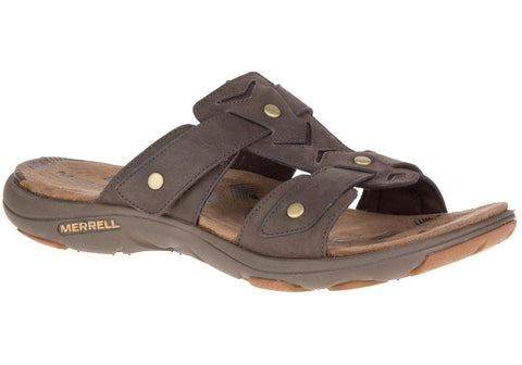 Merrell Womens Comfort Flat Supportive Adhera Slide II Sandals