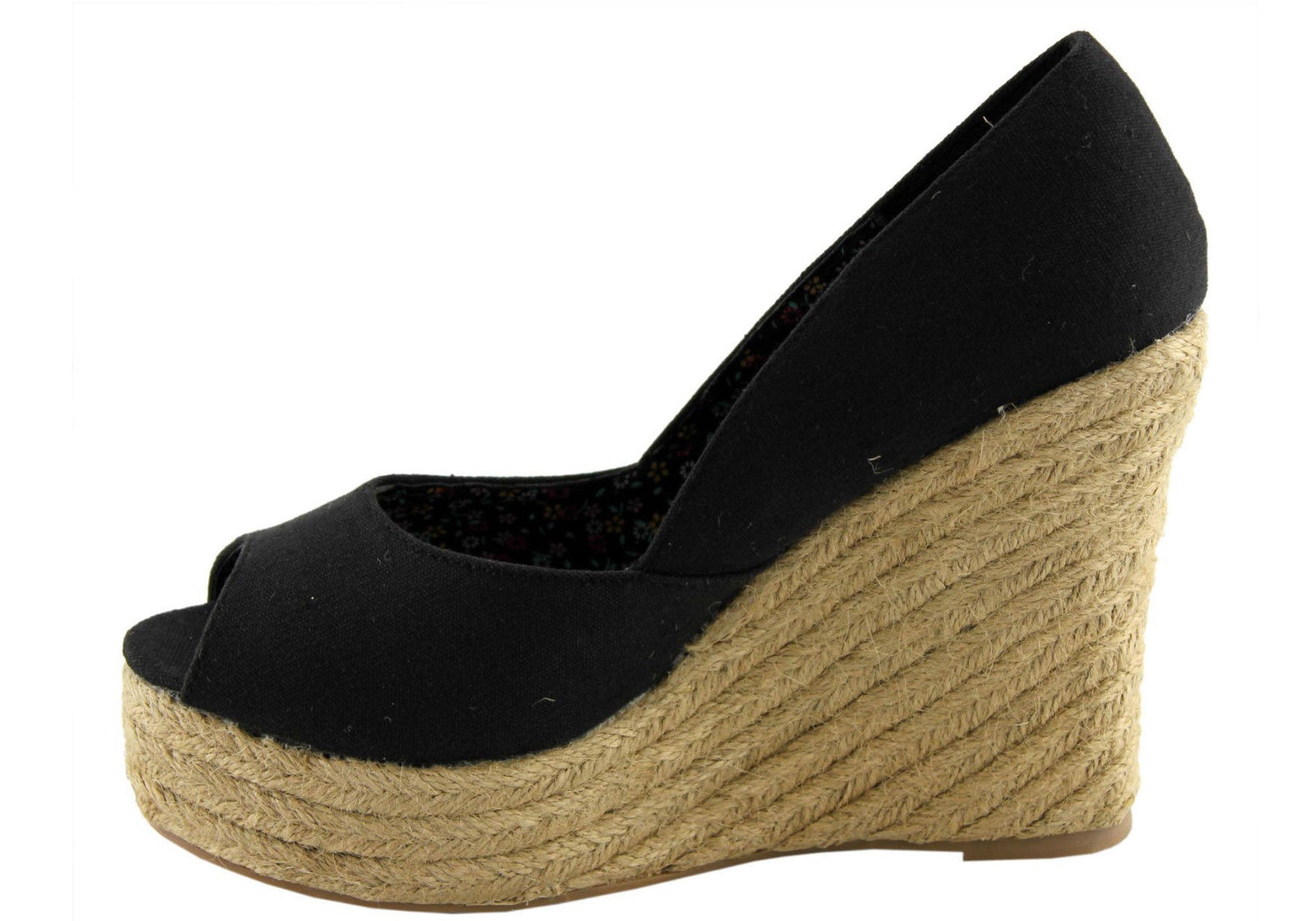 Wildfire Blaze Womens Peep Toe Wedges