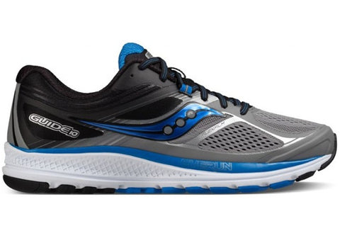 Saucony Guide 10 Mens 2E Wide Fit Sport Shoes