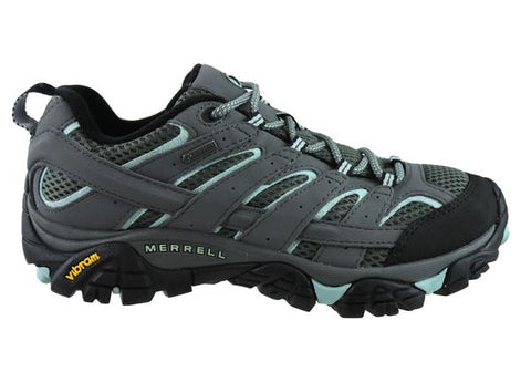 Merrell Moab 2 Gore-Tex Womens Wide Width Comfortable Hiking Shoes