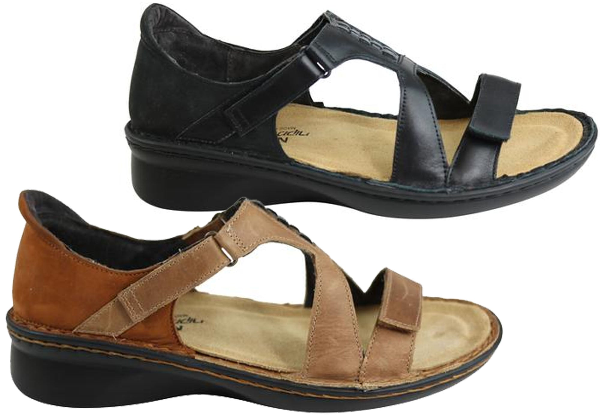 Naot Figaro Womens Leather Comfort Wide